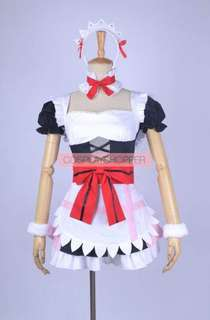 LOVE LIVE Nico Yazawa Maid cosplay costume