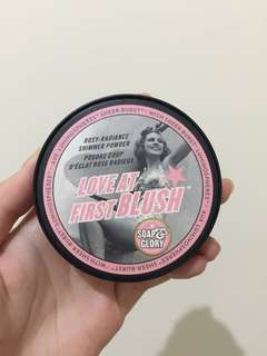 LOVE AT FIRST BLUSH SOAP & GLORY