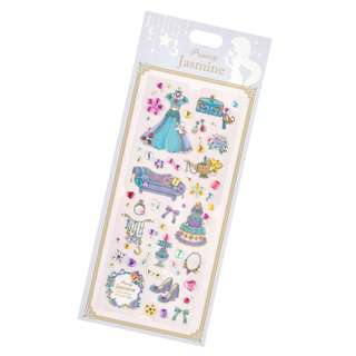 Japan Disneystore Disney Store Jasmine Parts Princess Party Seal Sticker