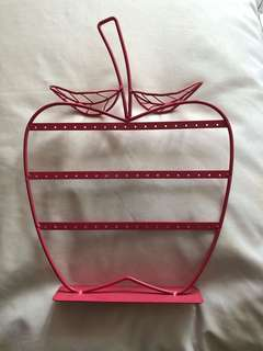 apple earrings holder