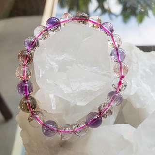 Super Seven Crystal Bracelet (9mm)