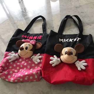 Mickey / Minnie Mouse Bag