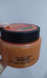 Body shop mango scrub