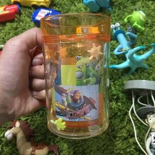 玩具總動員 迪士尼 杯子 水杯 筆筒 三眼怪 收納盒 胡迪 公仔