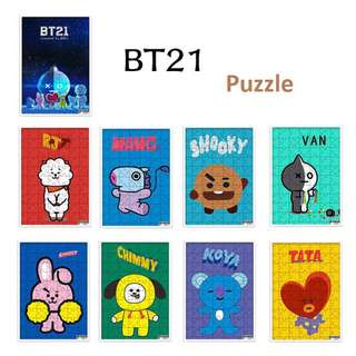 BT21 JIGSAW PUZZLE 150 pieces Preorder