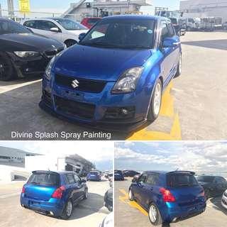 Car Spray - Suzuki swift