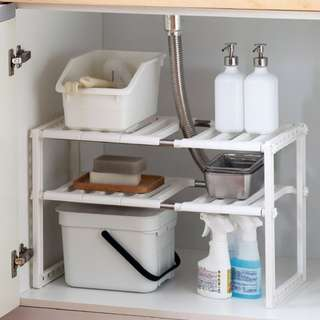 Free delivery Shelf in Sink/Kitchen Storage/Kitchen Rack