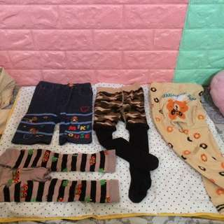 SET BABY BUSHA PANTS