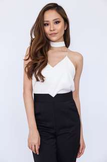 💗T Back Choker Camisole Top