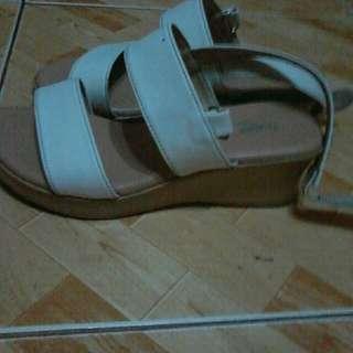 Sugar Kid's white sandals