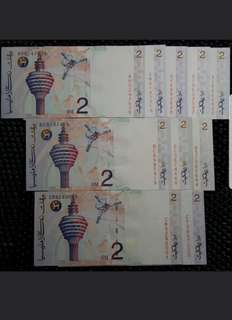 Malaysia Farewell 8th series Rm2 SOLD
