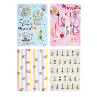 Japan Disneystore Disney Store Disney Character Disney Classics Clear File