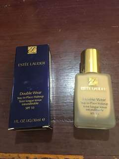 Estee lauder double wear foundation shade sand
