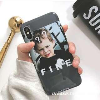 Iphone6s/7+/8X手機軟殼