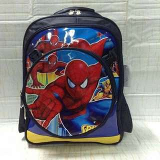 2 in 1 Character Kids Backpack - SPIDERMAN