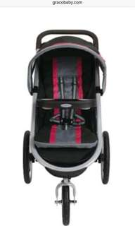 Graco jogger stroller with carseat