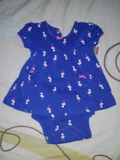 Carter's dress with inner panty