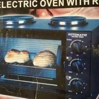 Oven & kompor listrik