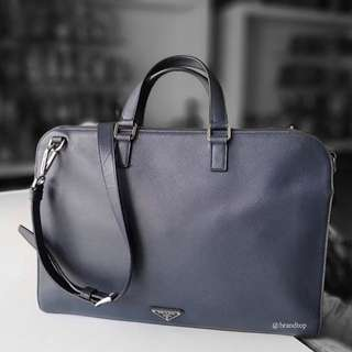 Authentic Prada Saffiano Briefcase Bag