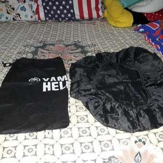 Cover Helm dan cover tas