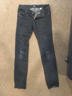 black skinny jeans from dotti