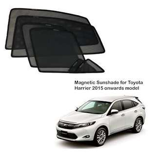 Toyota Harrier magnetic shades 6pcs
