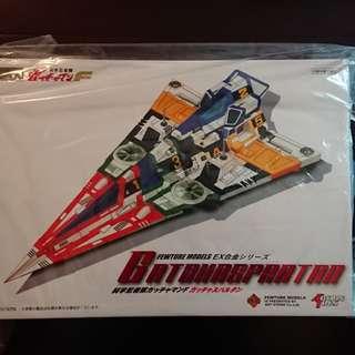 科學忍者隊 Gatchaspartan Fewture Models EX合金 Action Toys