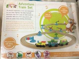 Baby Genius Adventure Train with Tracks