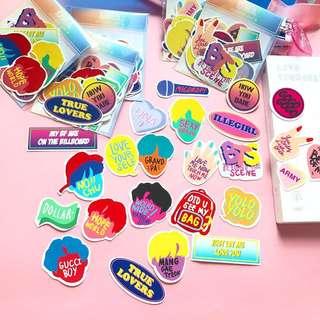 BTS DNA Stickers (Ver.B)