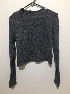 Cropped Knit : Large