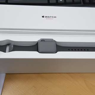 Apple Watch Series 3 38mm Space Grey Aluminium Case