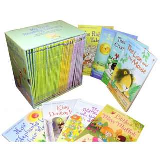 50 Usborne My First Reading Library Set - Brand New Sealed 13