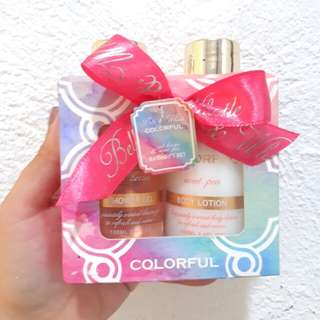 Colorful Shower Gel & Lotion