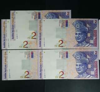 Malaysia 9th Series (Corner Left Signature)