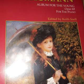 Schumann Album for the young op.68 ( book)