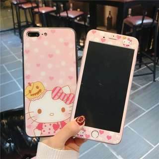 iPhone case+mon貼