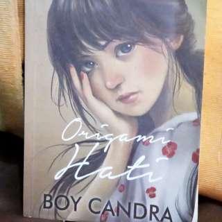 Novel Origami Hati TTD Boy Candra