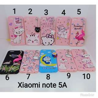 New case gantel cute for xiaomi note 5a