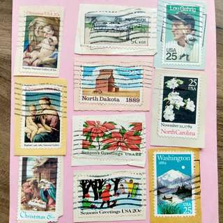 [RARE] USA Stamps Set 001
