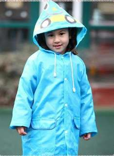 BN boy kid raincoat (printing defect) 3-7yrs old