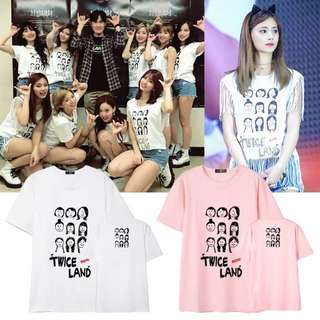 TWICE LAND UNOFFICIAL T SHIRT