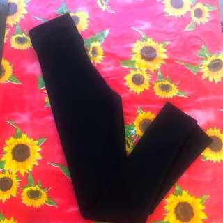 DESIGNER High-Waist skinny LEGGINGS XS