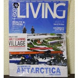 🚚 Expat Living Magazine April 2018 BRAND NEW