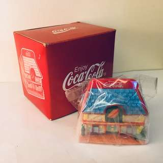 Coca Cola Building Figurine