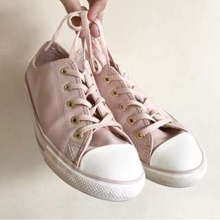 Converse All Star Dainty Ox Dusty Pink/Gold