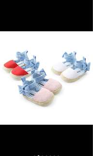 Baby girl prewalker shoe soft shoe infant newborn toddler kid