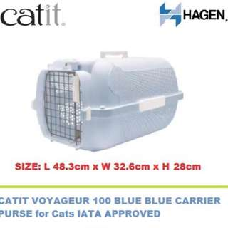 [FREE POSTAGE] Cat Carrier (BLUE)
