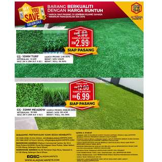 We Save You Save Colour Sale !Promotion For Grass Carpet!