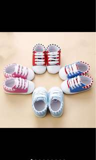 Baby boy girl sneakers prewalker shoe soft shoe infant newborn toddler