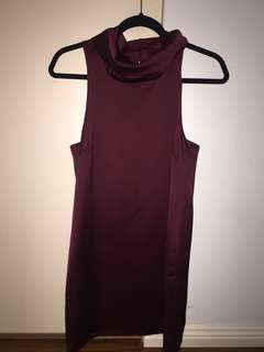 Keepsake High Neck Dress
